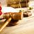 comma · legge · giustizia · legno · martelletto · legno - foto d'archivio © janpietruszka