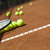 tennis racket and balls court stock photo © janpietruszka