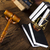 judges wooden gavel and law scales stock photo © janpietruszka