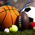 équipements · sportifs · football · basket · baseball · football · tennis - photo stock © janpietruszka