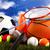 Sports balls with equipment, natural colorful tone stock photo © JanPietruszka