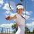 young woman playing tennis natural colorful tone stock photo © janpietruszka