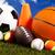 グループ · スポーツ用品 · 自然 · カラフル · スポーツ · サッカー - ストックフォト © JanPietruszka