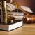 裁判官 · 小槌 · 木材 · 法 · ハンマー · 白 - ストックフォト © JanPietruszka