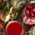 glass of mixed berry jam with strawberries bilberries red curr stock photo © janpietruszka