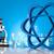 átomo · moléculas · modelo · água · projeto · assinar - foto stock © janpietruszka