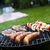 grilling at summer weekend bright colorful vivid theme stock photo © janpietruszka