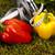 fitness · żywności · zielona · trawa · zdrowia · energii · tłuszczu - zdjęcia stock © JanPietruszka