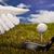 ゴルフ · 日没 · 男 · 演奏 · フラグ · 楽しい - ストックフォト © janpietruszka