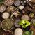 alternative medicine dried herbs background stock photo © janpietruszka