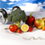 diéta · fitnessz · étel · gyümölcs · egészség · háttér - stock fotó © JanPietruszka