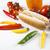 孤立した · ホットドッグ · ディナー · サンドイッチ · バーベキュー · 食事 - ストックフォト © janpietruszka