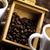 fincan · kahve · canlı · parlak · doku · gıda - stok fotoğraf © janpietruszka