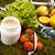 vitamin · fitnessz · diéta · zöld · fű · egészség · testmozgás - stock fotó © JanPietruszka
