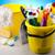 ingesteld · reinigingsproducten · werk · home · fles · Rood - stockfoto © JanPietruszka