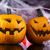 halloween pumpkin jack spider web stock photo © janpietruszka