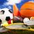スポーツ用品 · 草 · 自然 · カラフル · スポーツ · サッカー - ストックフォト © JanPietruszka