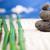 バランスのとれた · 禅 · 石 · 白 · リラックス · エネルギー - ストックフォト © janpietruszka