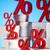 red percentage symbol stock photo © janpietruszka