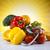 comida · fita · métrica · fitness · pôr · do · sol · sol · fruto - foto stock © janpietruszka