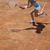 young woman tennis player on the court stock photo © janpietruszka
