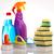 produits · de · nettoyage · travaux · maison · bouteille · rouge · Ouvrir · la - photo stock © JanPietruszka