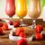 Sport Milk shakes, healthy and fresh stock photo © JanPietruszka