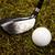 Golf ball on tee in driver  stock photo © JanPietruszka