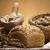 liszt · hagyományos · kenyér · étel · háttér · vacsora - stock fotó © JanPietruszka