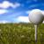 гольф · один · мяча · Blue · Sky · небе - Сток-фото © janpietruszka
