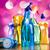 ayarlamak · temizleme · ürünleri · çalışmak · ev · şişe · kırmızı - stok fotoğraf © janpietruszka
