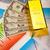 золото · баров · монетами · финансовых · деньги · металл - Сток-фото © JanPietruszka