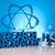 抽象的な · デザイン · 分子 · 化学 · 背景 · ファーム - ストックフォト © janpietruszka