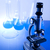 laboratório · artigos · de · vidro · equipamento · tecnologia · vidro · azul - foto stock © JanPietruszka