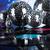disco balls sound waves and music background stock photo © janpietruszka
