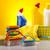 очистки · оборудование · работу · домой · бутылку · красный - Сток-фото © JanPietruszka
