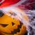 spinnenweb · ogen · achtergrond · oranje · ruimte - stockfoto © janpietruszka