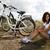 meisjes · fiets · tour · genieten · vrouw · meisje - stockfoto © JanPietruszka