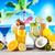 alcohol drinks set with fruits stock photo © janpietruszka