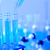 cair · tubo · laboratório · medicina · azul · garrafa - foto stock © JanPietruszka