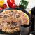 olasz · pizza · ízletes · természetes · étel · levél - stock fotó © JanPietruszka