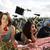 girls on picnic summer free time spending stock photo © janpietruszka