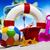 colorful plastic toys on the beach stock photo © janpietruszka