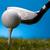 golf · club · zonsondergang · gazon · lifestyle · weide - stockfoto © JanPietruszka
