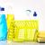 variedade · produtos · de · limpeza · luvas · garrafas · produtos · químicos · isolado - foto stock © janpietruszka