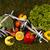 fitness food and green grass stock photo © janpietruszka