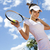 Tennis player, natural colorful tone stock photo © JanPietruszka