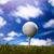 golf · kulüp · top · spor · gün · batımı - stok fotoğraf © janpietruszka