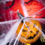 halloween pumpkin jack spider web stock photo © janpietruszka