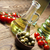 fraîches · huile · d'olive · rural · feuille · verre - photo stock © janpietruszka